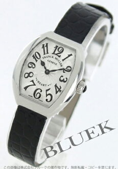 Franck Muller heart to heart enamel leather Black / Silver ladies 5002S QZ HEART
