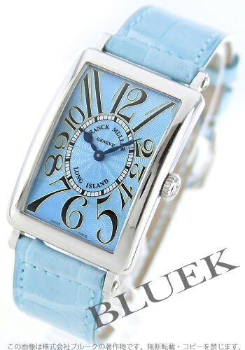 952 Frank Muller long eye orchid doc local people leather light blue Lady's QZ