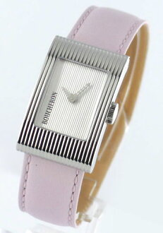 ブシュロンリフレ M model leather pink / silver Lady's WA009401