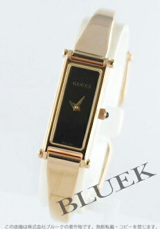 Gucci YA015 Bangle types PGP black regular women's YA015557