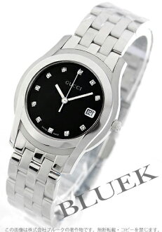 Gucci YA055 diamond index black men YA055303