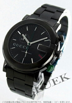 Xmas sale ★ gucci YA101 chronograph oar black men YA101331