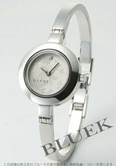 Rakuten Japan sale ★ Gucci YA105 silver flora 1 P diamond regular YA105507