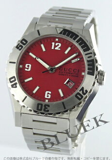 Gucci YA115 Pantheon 300m diver automatic red men YA115218