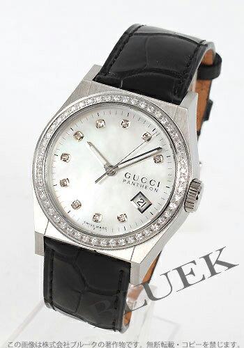 Gucci YA115 Pantheon diamond alligator leather white shell Boys YA115405