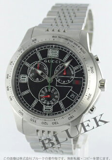 Rakuten Japan sale ★ Gucci YA126 G timeless chronograph tachymeter black mens YA126205