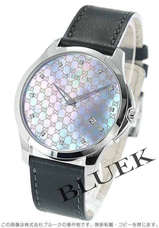 グッチ GUCCI Gタイムレス ダイヤ メンズ YA126307