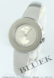 (white leather) YA129501 with gucci YA129 you play silver Lady's substitute belt