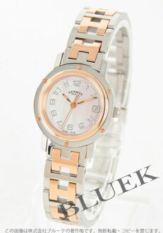 Hermes Clipper PG Combi acre pink shell ladies push buckle CL4.221.214/3824