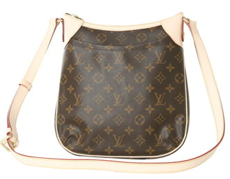 Louis Vuitton LOUIS VUITTON Monogram Odeon PM shoulder bag dark brown M56390