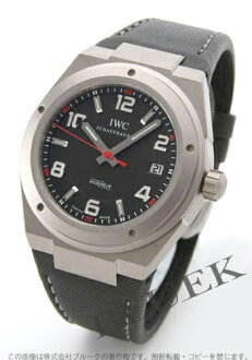 IWC インヂュニア AMG titanium leather black men 3227-03
