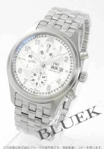 IWC's pit fire chronograph silver men IW371705