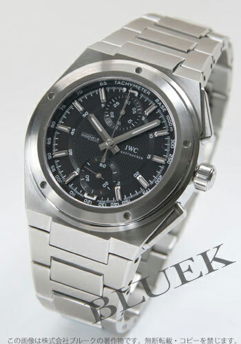 IWC Ingenieur automatic chronograph black mens 3725-01