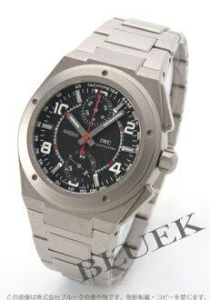 IWC Ingenieur automatic chronograph AMG titanium black mens 3725-03