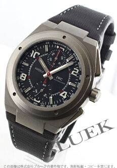 IWC Ingenieur titanium automatic chronograph AMG leather black mens IW372504