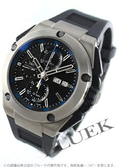 IWC Ingenieur chronograph titanium automatic rubber black mens IW376501