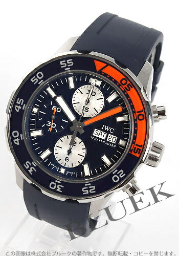IWC aqua timer chronograph divers rebab rack / blue men IW376704