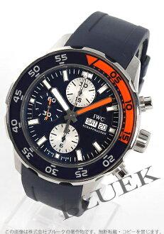 IWC aqua timer chronograph divers rebab rack / blue men IW376704