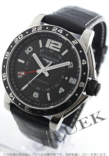 Jin Ron admiral automatic GMT alligator leather black men L3.668.4.56.2