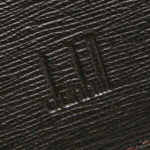 ダンヒルdunhill二つ折財布サイドカーダークブラウンFP3070E