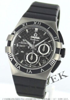 Omega Constellation double eagle chronograph chronometer titanium rubber carbon black mens 121.92.41.50.01.001