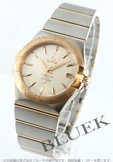 Rakuten Japan sale ★ Omega Constellation coaxial chronometer RG Combi silver mens 123.20.35.20.02.001