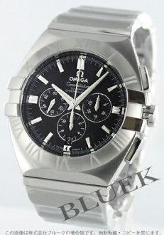 1514.51 オメガコンステレーションダブルイーグル chronometer chronograph black men