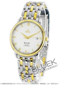 Omega-Devil prestige 4374.31 chronometer co-axial YG Combi silver mens