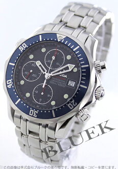 Omega Seamaster 300 m プロダイバーズ 2225.80 chronometer automatic chronograph blue mens