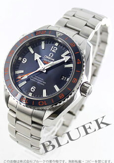 Omega Seamaster Planet Ocean Inter net co-axial GMT 600 m waterproof blue mens 232.30.44.22.03.001