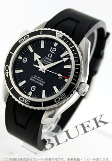 Omega Seamaster Planet Ocean 2900.50.91 coaxial 600 m waterproof rubber black mens