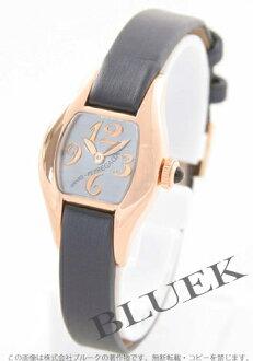 ジラールペルゴリシュビルプチ PG pure gold satin leather navy / black shell Lady's 26620.52.621.0