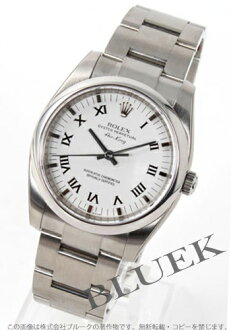 Roman men's Rolex Ref.114200 Air-King white