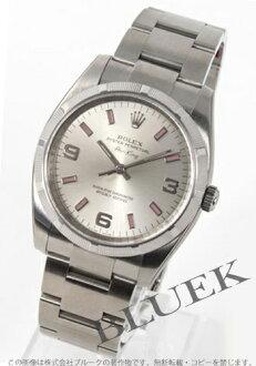 Rolex Ref.114210 Air-King エンジンターンドベゼル silver Arabic pink mens