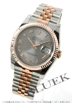 Rolex Ref.116231 Datejust PG duo grey Roman men