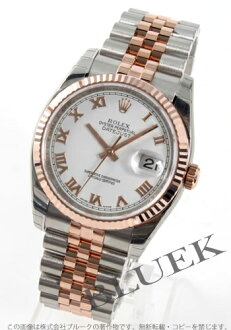 Men's Rolex Datejust in Ref.116231 PG duo White Roman