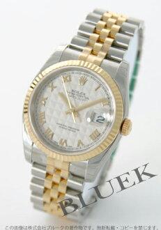 Rolex Ref.116233 Datejust YG Combi ivory Roman men