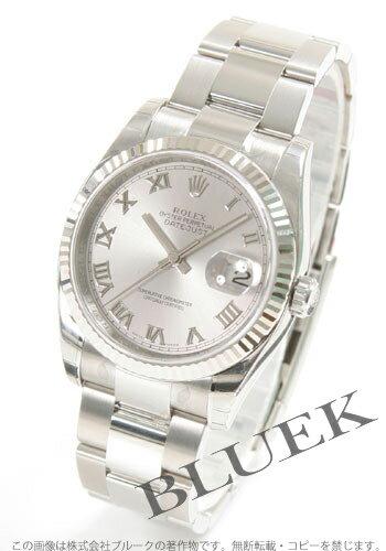 Rolex Ref.116234 Datejust WG bezel grey Roman men