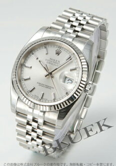 Five Rolex Ref.116234 date just WG bezel breath silver men