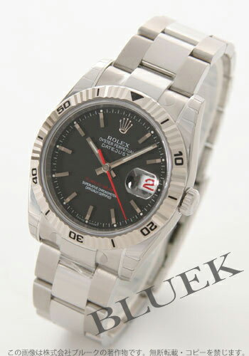 Rolex Ref.116264 デイトジャストターノグラフ WG bezel black men