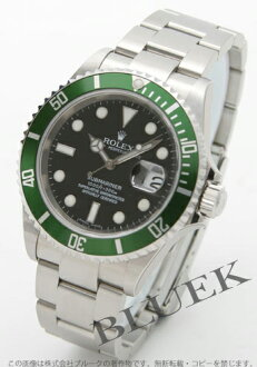 Rolex Ref.16610LV Submariner date black グリーンベゼル men