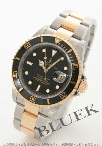 Rolex Ref.16613 Submariner date YG Combi black mens