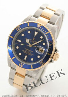 Rolex Ref.16613 Submariner date YG Combi blue mens