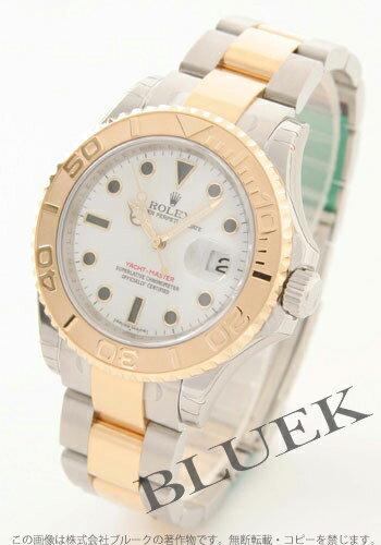 Rolex Ref.16623 yacht master YG combination white men
