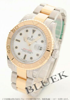 Rolex Ref.16623 yacht master YG combination white men
