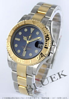 Rolex Ref.168623 sailing master YG Combi blue boys