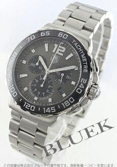 Tag Heuer formula 1 chronograph tachymeter anttola site gray mens CAU1115... BA0858