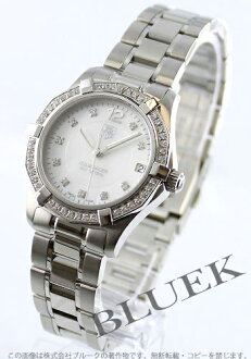 Tag Heuer Aquaracer 300 m water resistant diamond white shell Womens WAF1313. BA0819