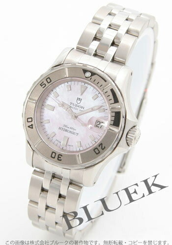 Tudor hydro notes 99090 pink shell ladies