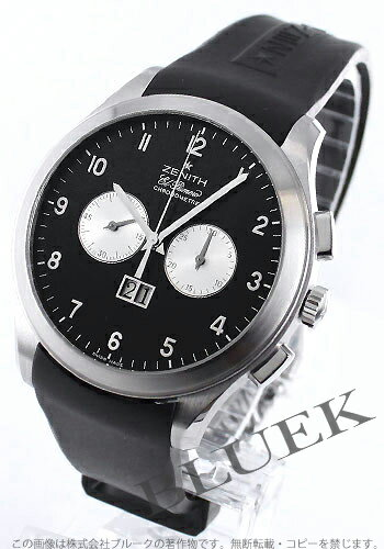 Zenith ground class ground date L primero chronometer rebab rack men 03.0520.4010/21.R511